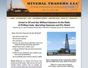 Mineral Traders LLC (Austin, TX) – Since 2002 html5-css3